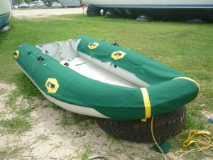 Fancy new chaps for the fancy new dinghy