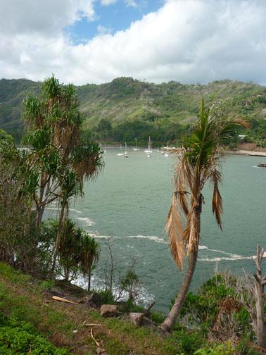 Atuona, Hiva Oa, Marquesas 9.48S 139.01W